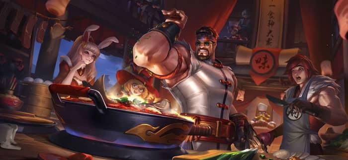 穿越到现实的英雄能做什么?程咬金成了一代厨神