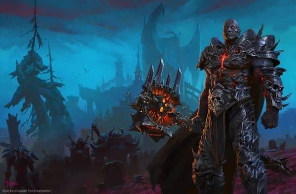来看看魔兽世界画师Bayard的新巫妖王主题画作