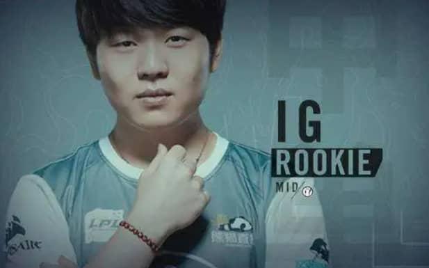 LPL再度力证Rookie是最强中单!